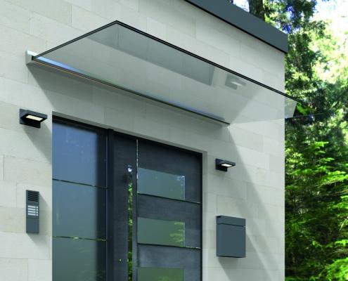 Super Das hochwertige Hauseingang Vordach/Überdachung aus Glas PS48